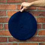12 inch Basque Beret, from Elosegui, Tolosa, Spain