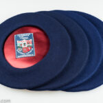 from 11 inch to 13 inch, dark blue Basque Berets